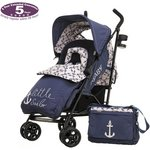 more details on Obaby Zeal Stroller Bundle - Little Sailor.
