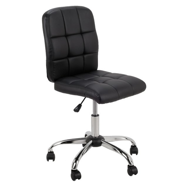Buy home jarvis adjustable office chair black at your online shop for office Argos home office furniture uk