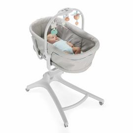 Chicco Baby Hug 4-in-1 Bedside Sleeper Crib - Glacial