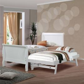 Nevis Bed Frame with Pop Up Trundle Bed