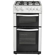 Bush AG56TW Single Gas Cooker - White