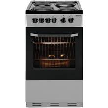 Beko BS530 Single Electric Cooker - Silver
