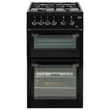 Beko BDG581W Single Gas Cooker - Black