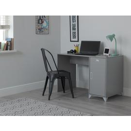 Argos Home Loft Locker Desk - Grey