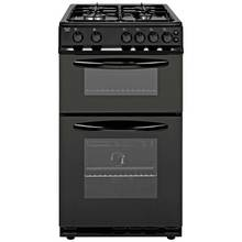 Bush AG56TB Single Gas Cooker - Black