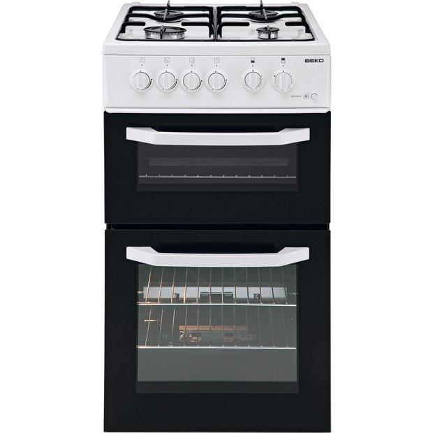 buy beko bdg581 single gas cooker white ins del rec at. Black Bedroom Furniture Sets. Home Design Ideas