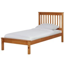 Argos Home Aspley Single Bed Frame - Oak Stain