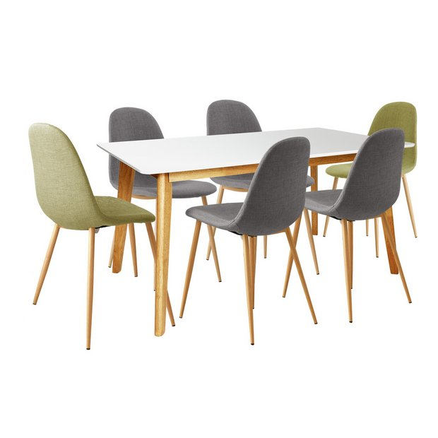 Argos Hygena Dining Table And Chairs: Buy Hygena Beni Dining Table And 6 Chairs