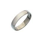 more details on Palladium Heavy D-Shape Wedding Ring.