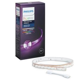 Philips Hue 20W LED Lightstrip Plus 1m Lightstrip Extension