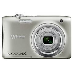 Nikon Coolpix A100 20MP 5x Zoom Compact Camera - Silver