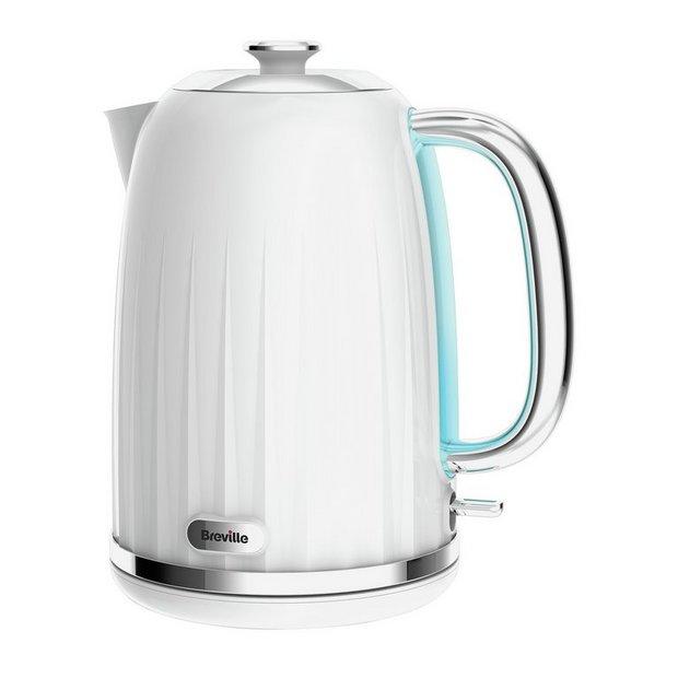 buy breville vkj738 impressions plastic kettle white at your online shop for. Black Bedroom Furniture Sets. Home Design Ideas