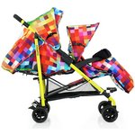 more details on Cosatto Shuffle Tandem Stroller - Pixelate.