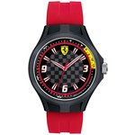more details on Scuderia Ferrari Men's Pit Crew Black Dial Red Strap Watch.
