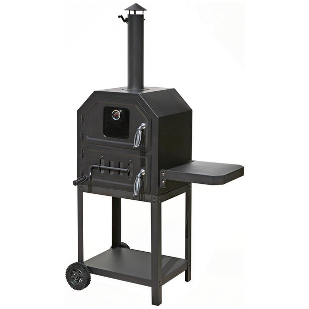 Buy Charcoal Pizza Oven Pizza Ovens And Outdoor Ovens Argos