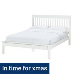Argos Home Aspley Kingsize Bed Frame - White