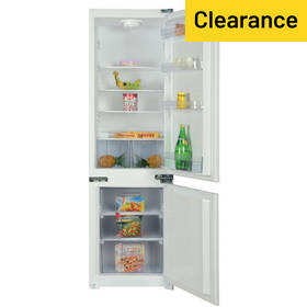 Bush BIFFC7030 Integrated Fridge Freezer - White