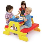 more details on Chad Valley Plastic Foldable Picnic Bench.