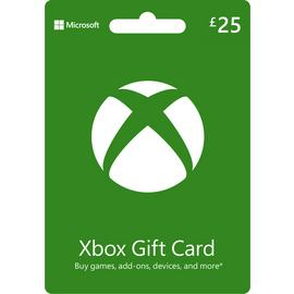 Xbox Live 25 GBP Gift Card