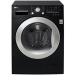 more details on LG FH2A8TDN8 8KG 1200 Spin Washing Machine - Black.