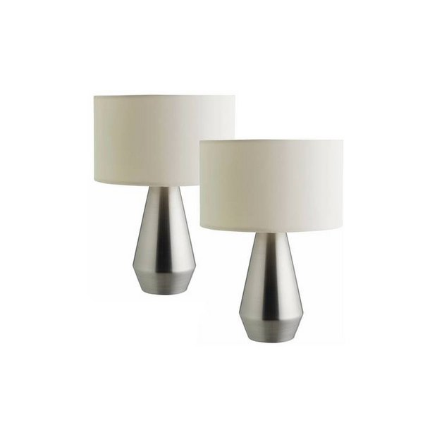 Table Lamp Cream at Argos.co.uk