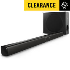 Philips HTL3140B 200W Sound Bar Speaker with Wireless Sub
