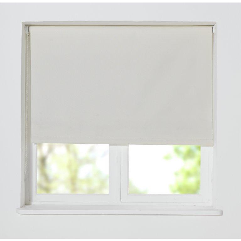 Buy Home Thermal Blackout Roller Blind 2ft Cotton