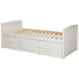 Argos Home Lennox White 6 Drawer Cabin Bed Frame