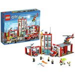more details on LEGO City Fire Station - 60110.