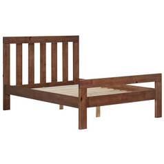 Argos Home Chile Kingsize Bed Frame - Dark Stain