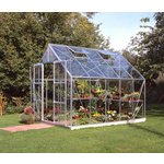more details on Halls Magnum Toughened 10 x 8ft Greenhouse with Base..