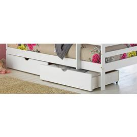 Argos Home Josie Set of 2 White Single Drawers