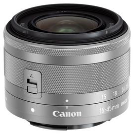 Canon EF-M 15-45mm f/3.5-6.3 IS STM Zoom Lens - Graphite.