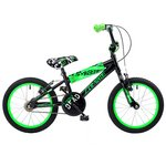 more details on Concept Zombie 16 inch BMX Bike - Black/Green.