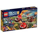 more details on LEGO Nexo Beast Master S Chaos Chariot - 70314.