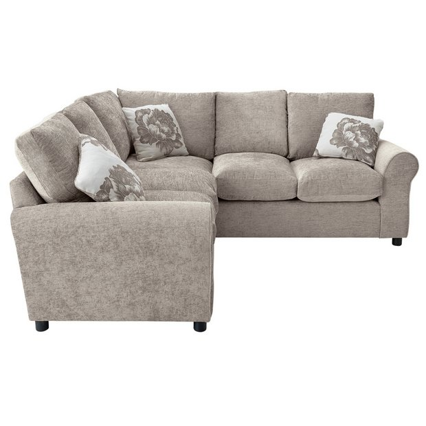 Buy home tessa dual facing corner sofa mink at your online shop for sofas Buy home furniture online uk