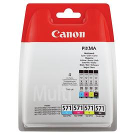 Canon CLI-571 Ink Cartridges - Black & Colour