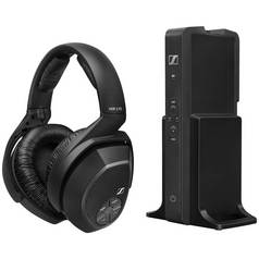 Sennheiser RS175 Wireless Headphones for TV / HiFi - Black
