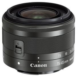 Canon EF-M 15-45mm f/3.5-6.3 IS STM Zoom Lens - Silver.