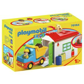 Playmobil 70184 1/2/3 Garbage Truck Playset