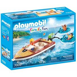 Playmobil 70091 Speedboat and Tube Riders