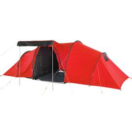 ProAction 6 Man 3 Room Tunnel Camping Tent