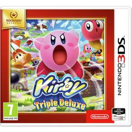 Kirby: Triple Deluxe Nintendo Selects 3DS Game