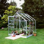 more details on Halls Popular Glass 6 x 6ft Greenhouse with Base.