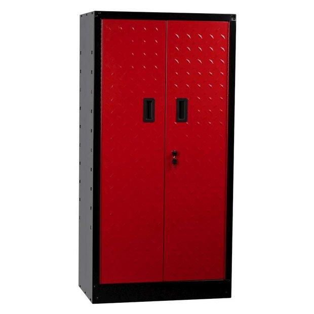 buy hilka tall garage cabinet at your online. Black Bedroom Furniture Sets. Home Design Ideas