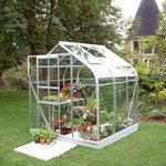 more details on Halls Supreme Glass 6 x 6ft Greenhouse with Base.