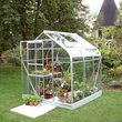 more details on Halls Supreme Toughened Glass 6 x 6ft Greenhouse with Base.