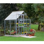 more details on Halls Popular Glass 4 x 6ft Greenhouse with Base.