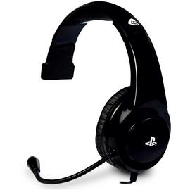 4Gamers PRO4-MONO Chat PS4 Headset - Black