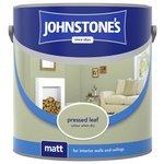 more details on Johnstone's Matt Emulsion Paint 2.5L - Pressed Leaf.
